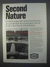 1966 Texaco Oil Ad - Second Nature Wildlife, Water
