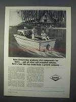 1966 Dana Corporation Ad - Vital Components for Boats