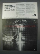 1966 Avco Corporation Ad, Bringing Planet Down to Earth