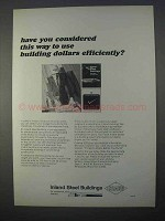 1966 Inland Steel Buildings Ad, Use Dollars Efficiently