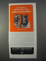 1966 Allen-Bradley Bulletin 800 Control Stations Ad - Saved