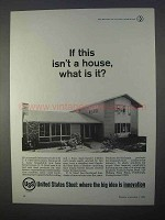 1966 United States Steel Ad - If This Isn't a House?