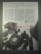 1966 Western Electric Ad - Do Even More In the Future