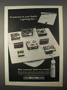 1966 Sony Tape Recorder Ad - 250-A 260 105 900 200 104