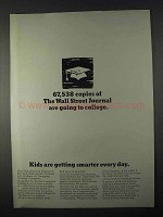 1966 Wall Street Journal Ad - Going To College
