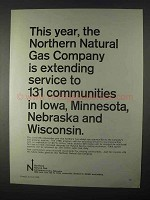 1966 Northern Natural Gas Company Ad - Service