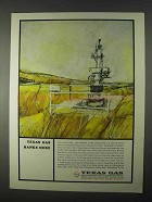 1966 Texas Gas Transmission Corporation Ad - Banks Here