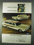 1966 Mercury Colony Park and Comet Villager Wagons Ad