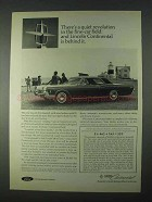 1966 Lincoln Continental Ad - A Quiet Revolution