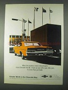 1966 Chevrolet Impala Sport Sedan Ad - Critical Buyers