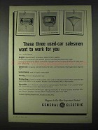 1966 General Electric Quartz-Flood Luminaires Ad