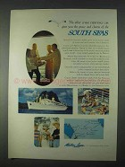 1966 Matson Lines Ad - No Other Cruise Experience