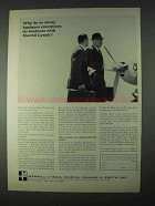 1966 Merrill Lynch Ad - Many Business Executives