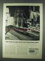 1966 The St. Paul Insurance Companies Ad - How Much
