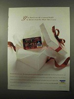 2005 VISA Credit Card Ad - Don't Need Crystal Ball