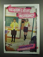 2004 Progressive Insurance Ad - Fashion Crisis