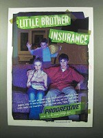 2004 Progressive Insurance Ad - Little Brother