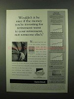 1996 Charles Schwab Retirement Ad - You're Investing