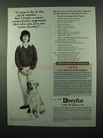 1995 Dreyfus Funds Ad - Want to Be in Stock Market
