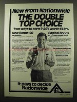 1984 Nationwide Bank Ad - The Double Top Choice