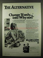 1984 Williams & Glyn's Bank Ad - Change If Only