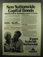 1982 Nationwide Building Society Ad - Capital Bonds