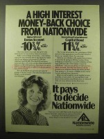 1982 Nationwide Building Society Ad - High Interest