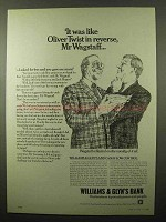 1980 Williams & Glyn's Bank Ad, Oliver Twist in Reverse