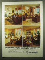 1980 Sun Alliance Insurance Group Ad - Growing Needs