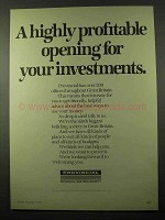 1979 Provincial Building Society Ad - Highly Profitable