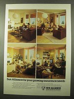 1979 Sun Alliance Insurance Group Ad - Needs