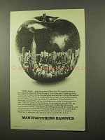 1978 Manufacturers Hanover Ad - The Big Apple