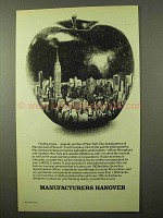 1977 Manufacturers Hanover Ad - The Big Apple