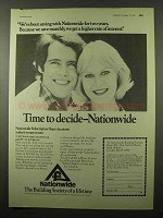 1975 Nationwide Building Society Ad - Been Saving