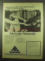 1974 Nationwide Building Society Ad - Get Saving