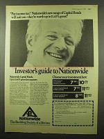 1974 Nationwide Building Society Ad - Income Tax?