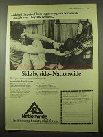 1973 Nationwide Building Society Ad - Advised the Pair
