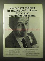 1971 Mutual Benefit Life Ad - Best Insurance Deal