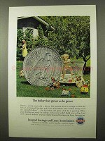 1964 Insured Savings and Loan Associations Ad - Grows