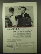 1963 Sun Life Assurance Company of Canada Ad - College