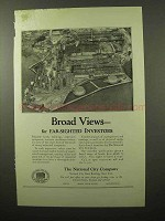 1924 The National City Company Ad - Broad Views
