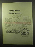 1966 The St. Paul Insurance Ad - Un-Common Boat