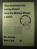 1966 C&S Citizens & Southern Banks Ad - Young Ideas