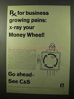 1966 C&S Citizens & Southern Banks Ad - Growing Pains