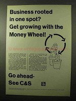 1966 C&S Citizens & Southern Banks Ad - Rooted in Spot