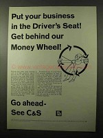 1966 C&S Citizens & Southern Banks Ad - Driver's Seat