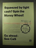 1966 C&S Citizens & Southern Banks Ad - Tight Cash?