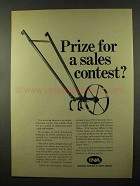 1966 Insurance Company of North America INA Ad - Prize