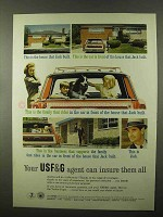 1966 USF&G Insurance Ad - The House That Jack Built