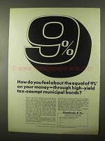 1966 Goodbody & Co. Brokers Ad - High-Yield Bonds
